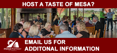 Host an Upcoming Taste of Mesa at your Business