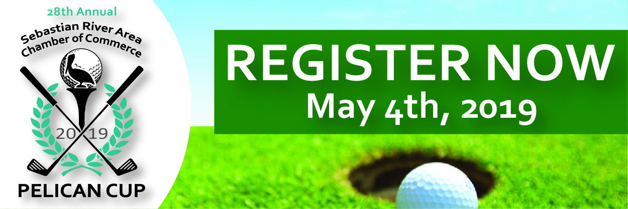 28th Annual Pelican Cup Golf Tournament - Register Now Banner