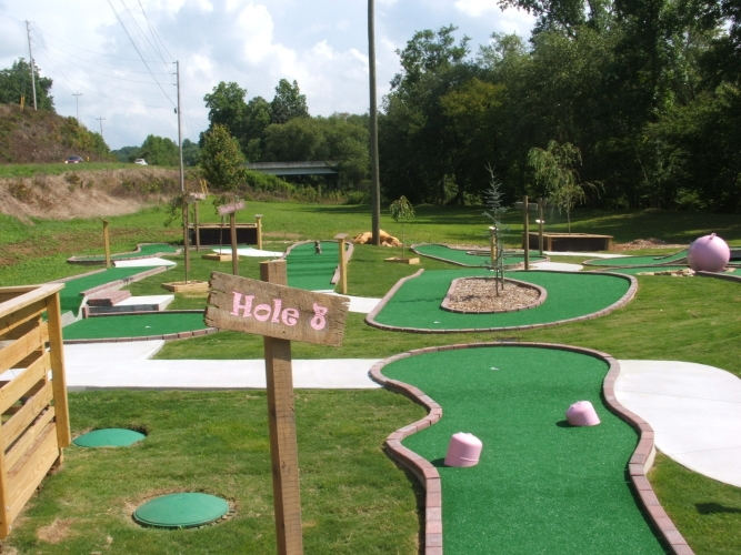 Mini Golf in Blairsville, GA