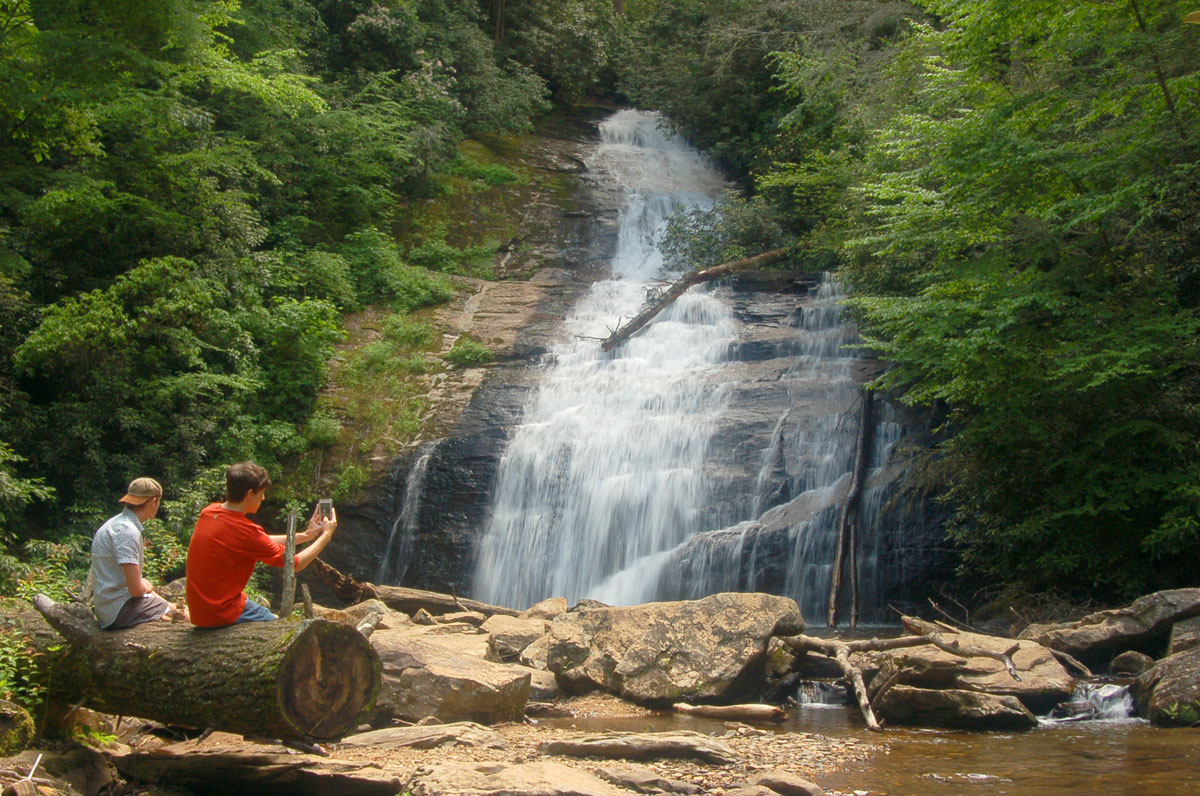Helton Creek Waterfall