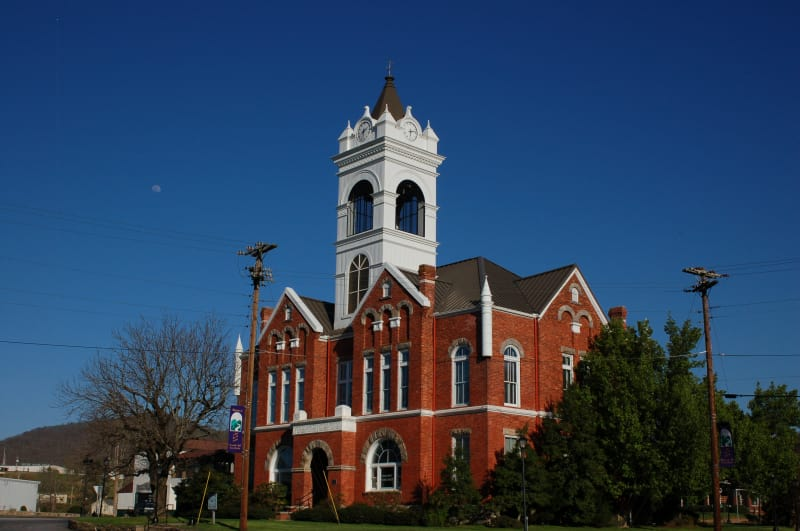 Blairsville, GA Historic Courthouse and Museum