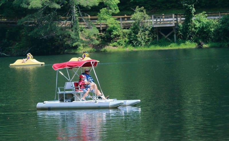 Vogel State Park Paddle Boats