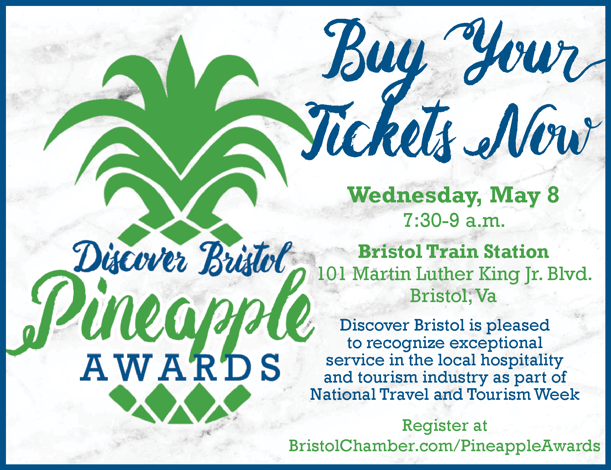 Discover Bristol Pineapple Awards - Bristol Chamber of
