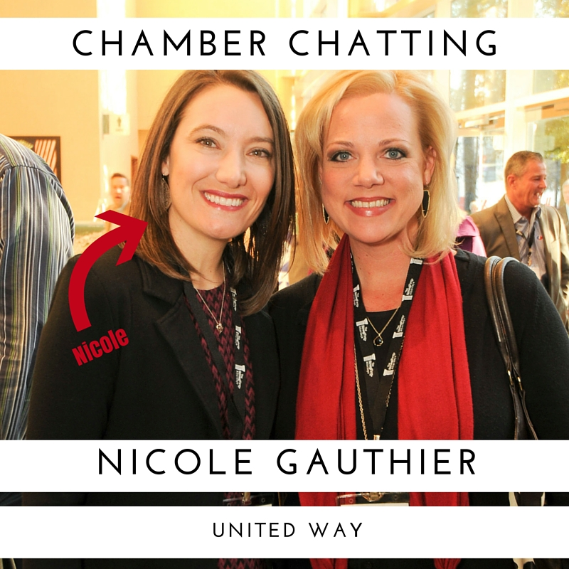 Nicole Robinson Gauthier of United Way chats about EOC 2017 and Giving Back in Montgomery County