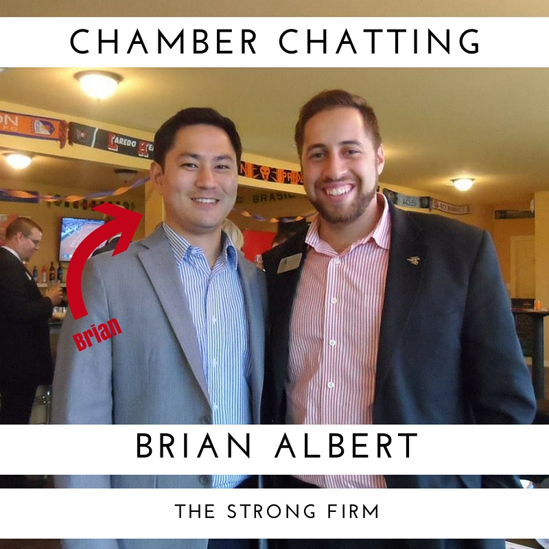 Chamber Chatting with Brian Albert from The Strong Firm