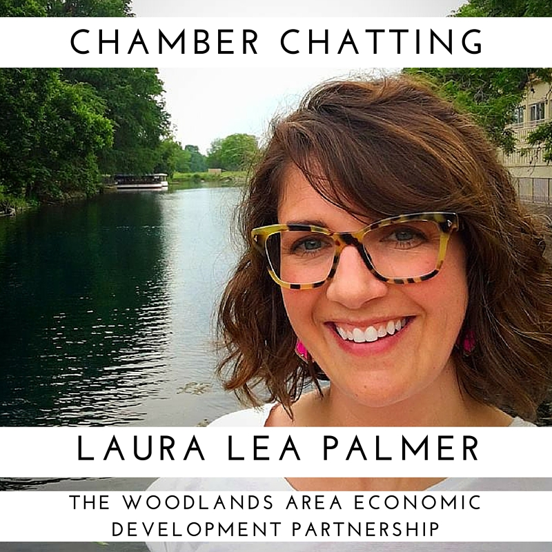 Laura Lea Palmer from The Woodlands Area Economic Development Partnership
