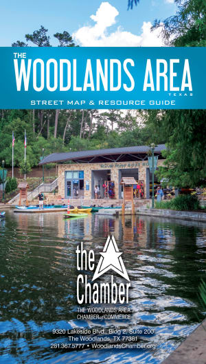 The Woodlands Area Map 2018