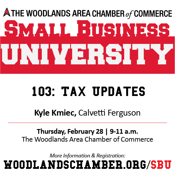 Small Business University 103_Tax Updates