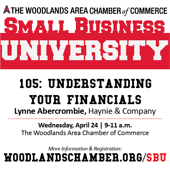 Small Business University 105: Understanding Your Financials