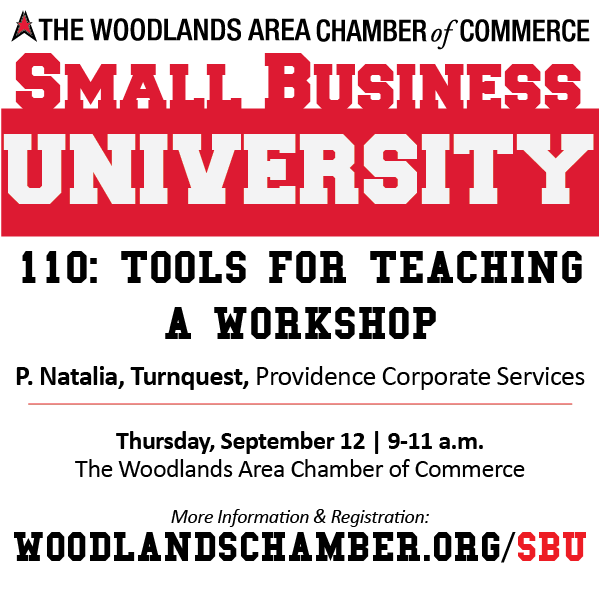 Small Business University 110: Tools for Teaching a Workshop