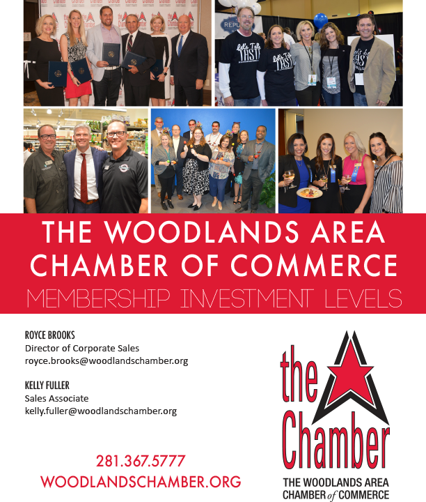 The Woodlands Area Chamber of Commerce Sales Packet
