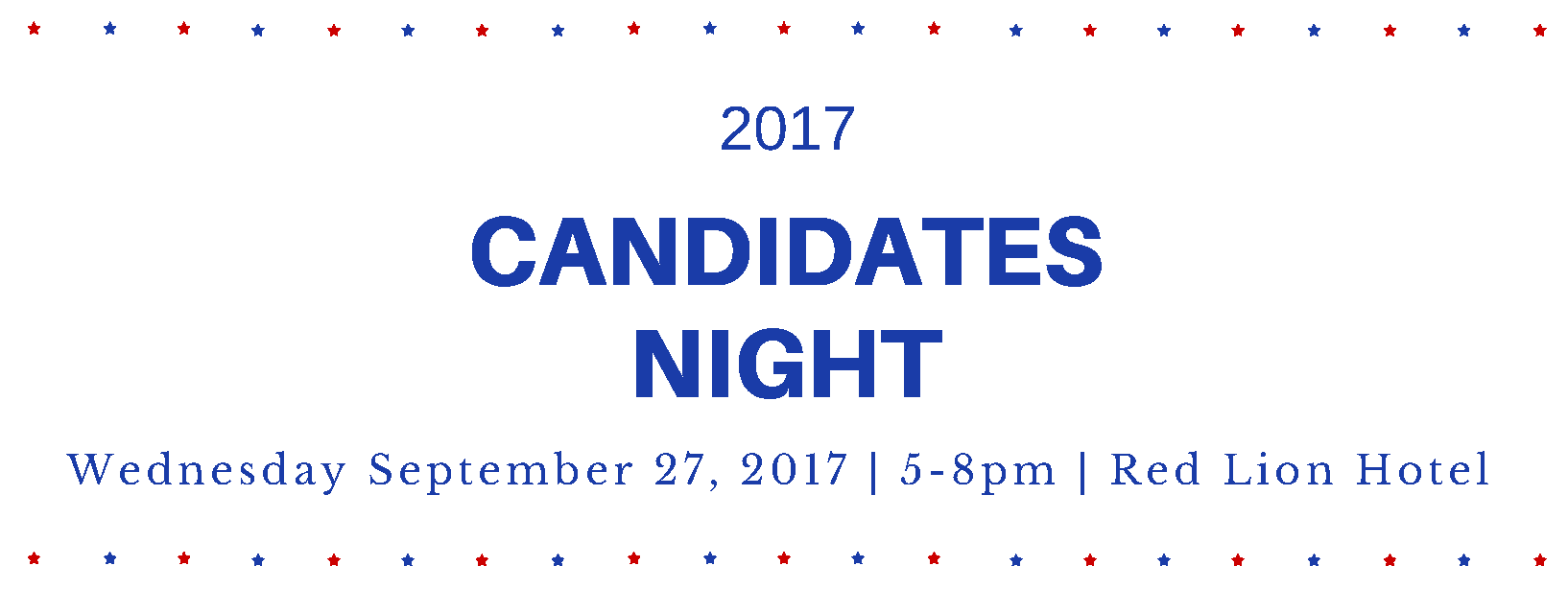 Join us at Candidates Night!