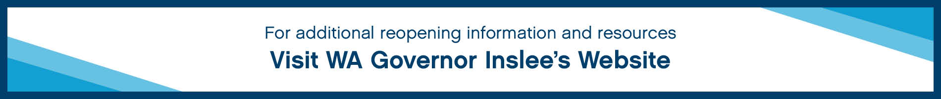 Visit WA Governor Inslee's Website