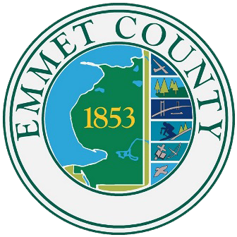 Emmet County Logo. Links to their website.