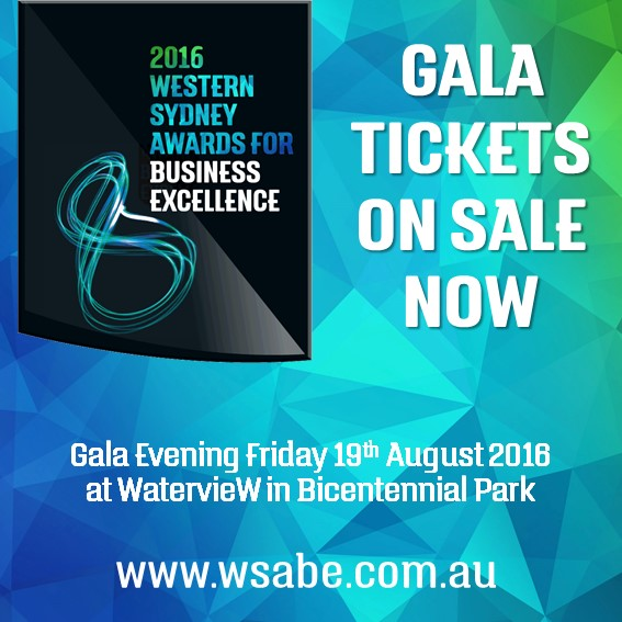 WSABE 2016 Gala Tickets on Sale now