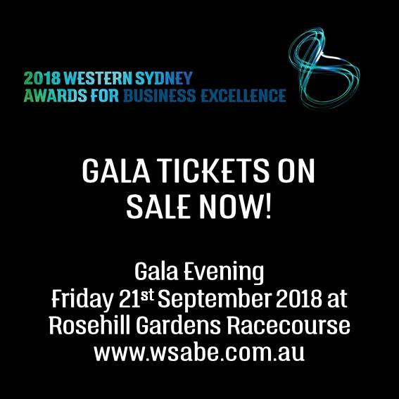 2018 WSABE Gala Tickets on Sale now