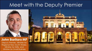 Meet with the Deputy Premier