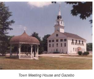 Town Meeting House and Gazebo