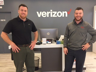 John & James Minahan (Owner's of Verizon in Rindge) are matching $1,500 in monetary donation for Operation Santa-Visit their store today to grab a name off the Christmas Tree
