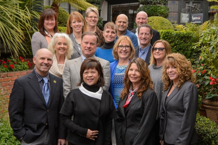 Carmel Chamber of Commerce 2016 Board of Directors