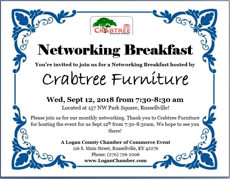 Superieur Crabtree Furniture Breakfast Networking
