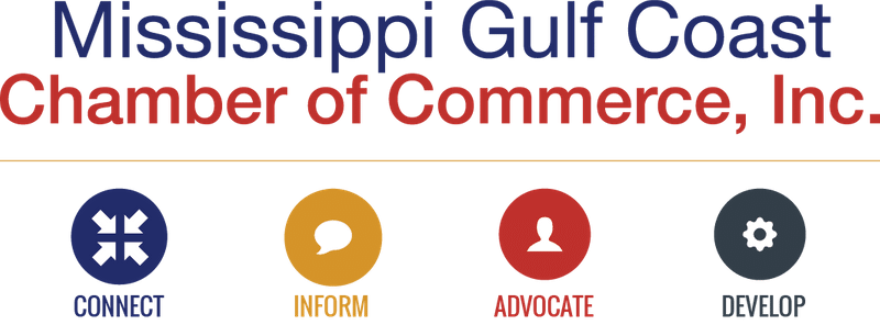 Mississippi Gulf Coast Chamber of Commerce, Inc. Logo