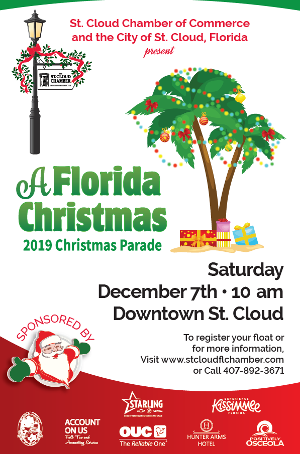 To Register please click on FLYER or this link: http://stcloudflchamber.com/events/details/2019-st-cloud-chamber-of-commerce-s-annual-christmas-parade-11975