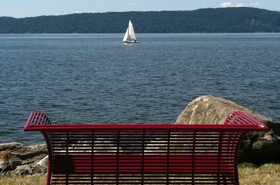 View From Croton Riverwalk