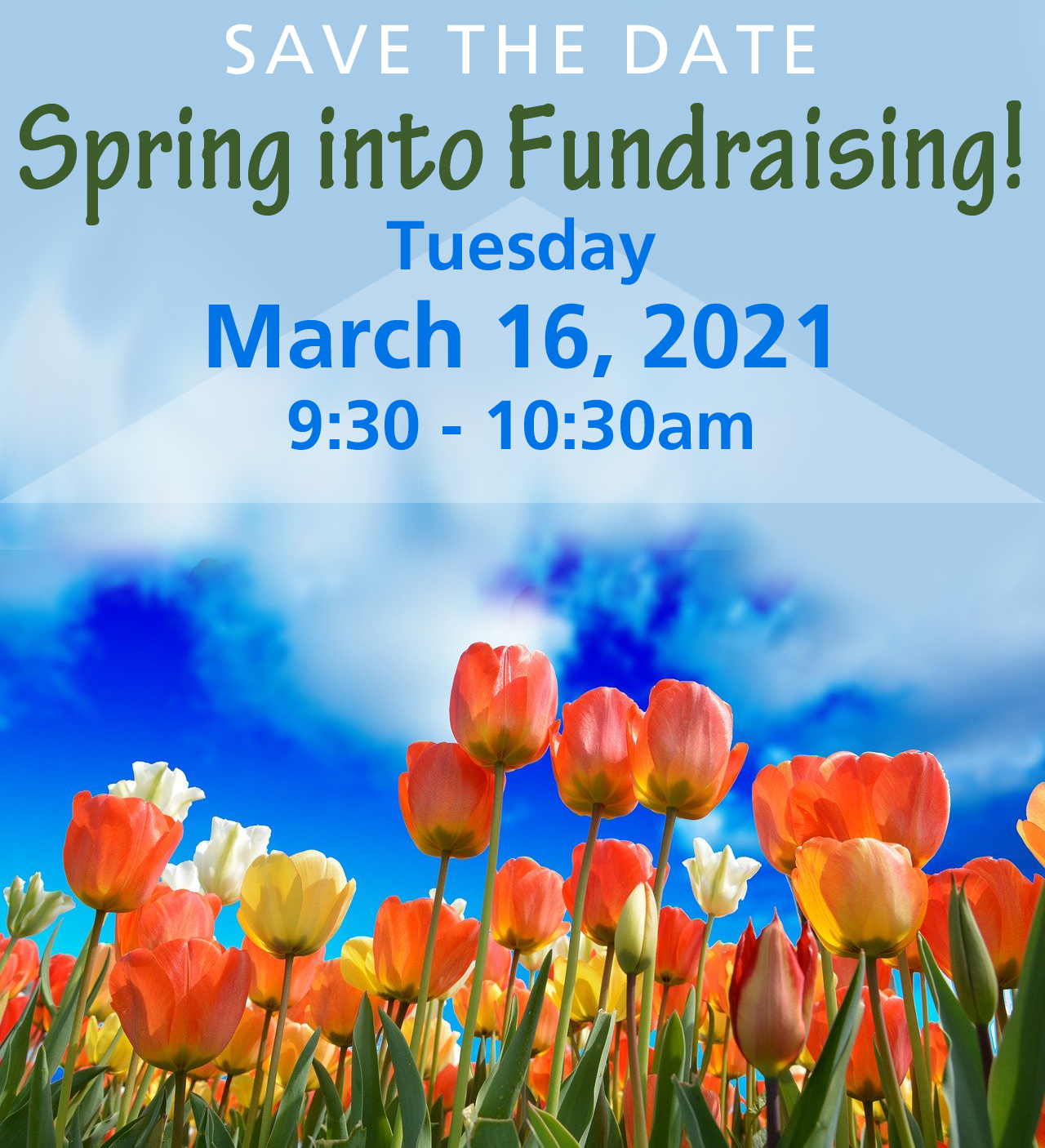 Spring Into Fundraising