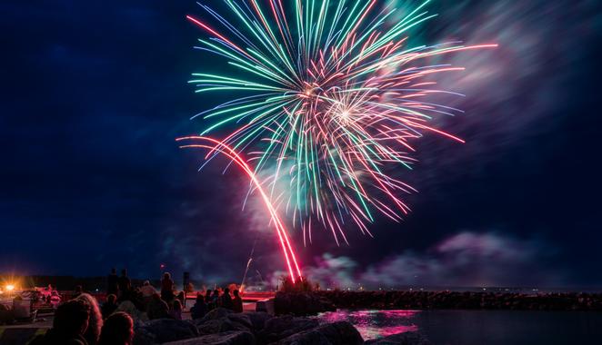 Labour Day Weekend Fireworks Extravaganza