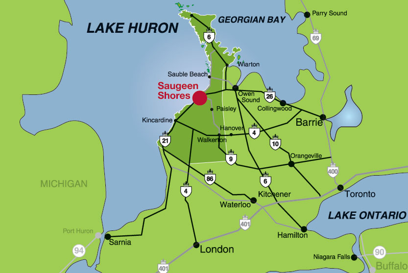 Saugeen Shores location