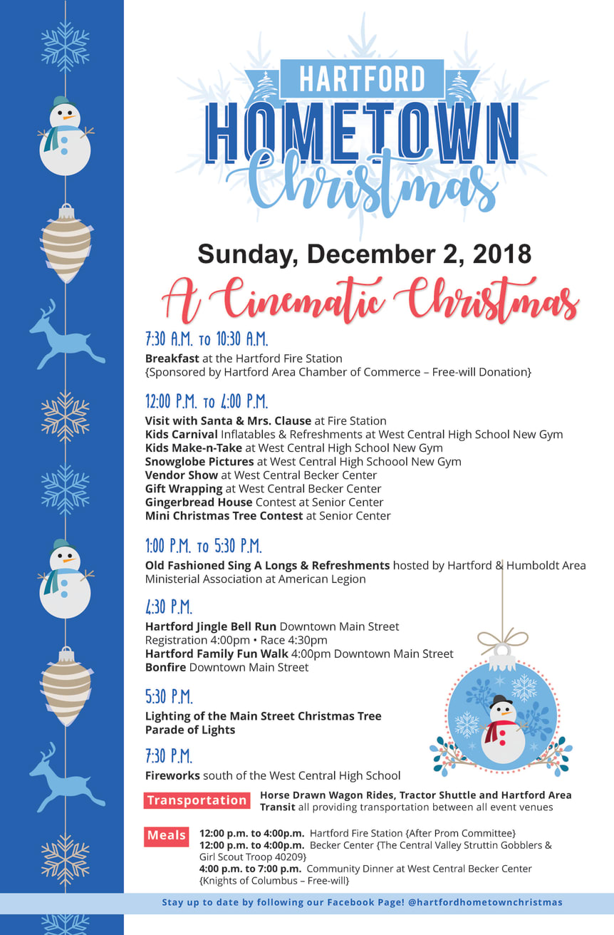Hartford Hometown Christmas Schedule 2018