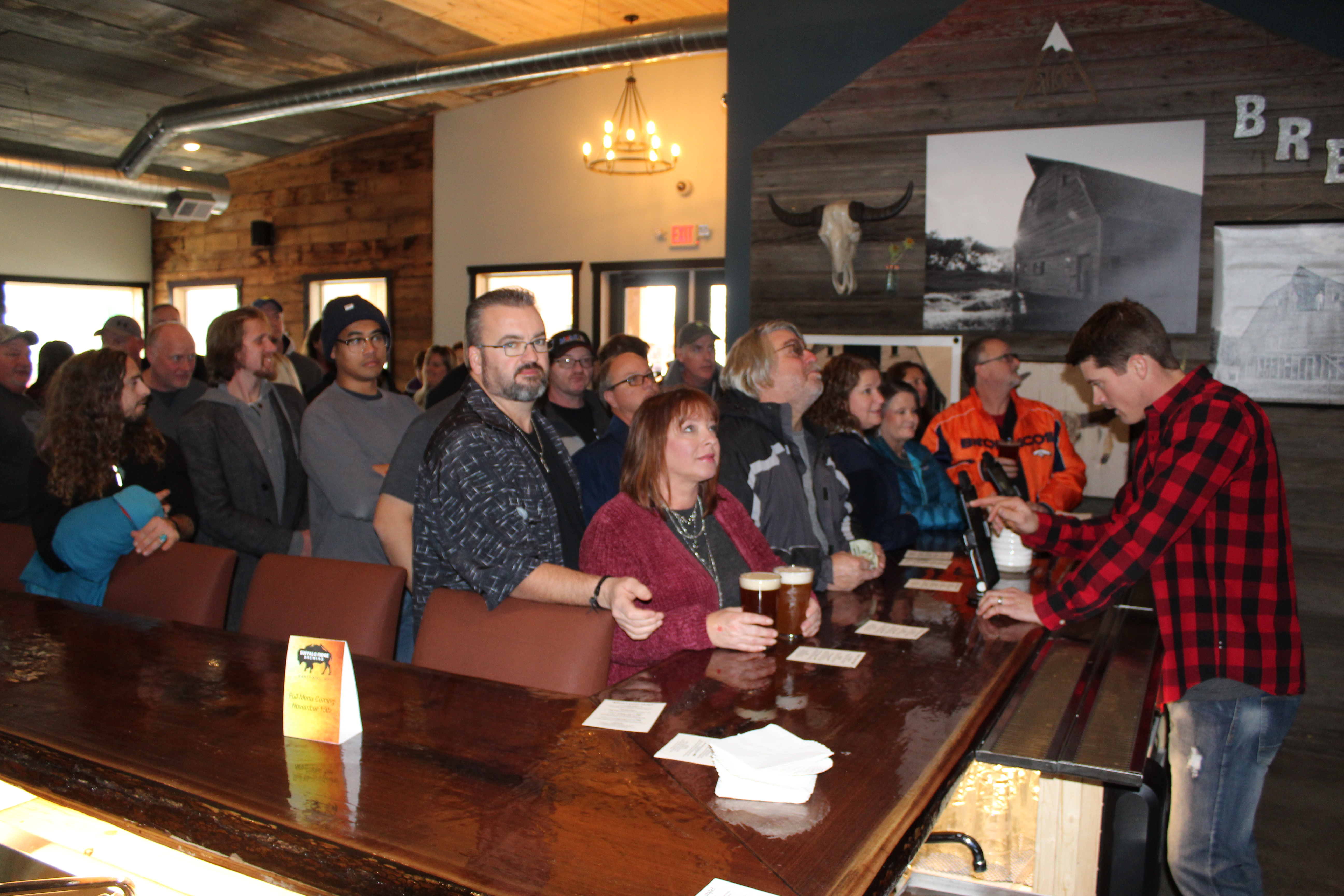 Buffalo Ridge Brewing Grand Opening