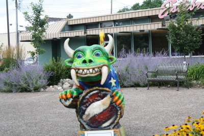 Downtown Statue of Hodag