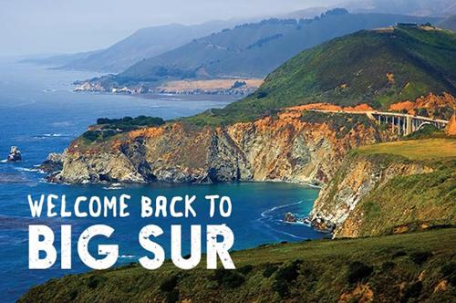 Big Sur is Open