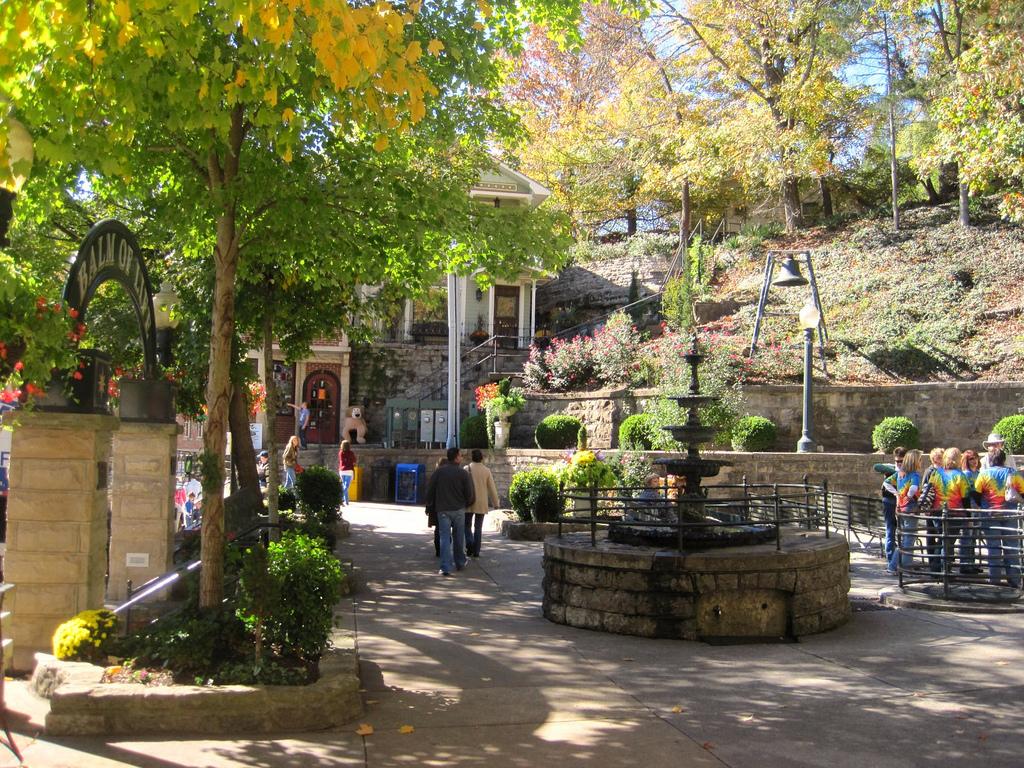 Beginning of Fall in Basin Spring Park