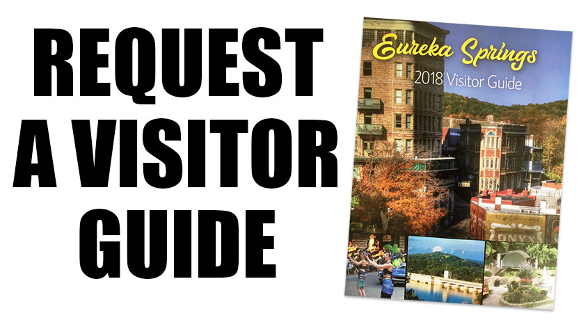 Request a Eureka Springs Chamber Visitor Guide