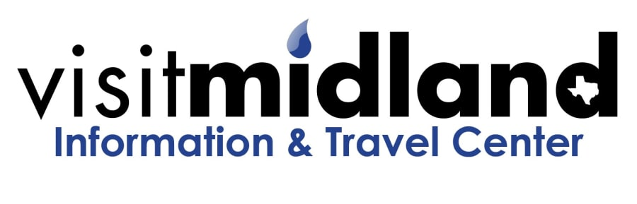 VisitMidland Info & Travel Center logo