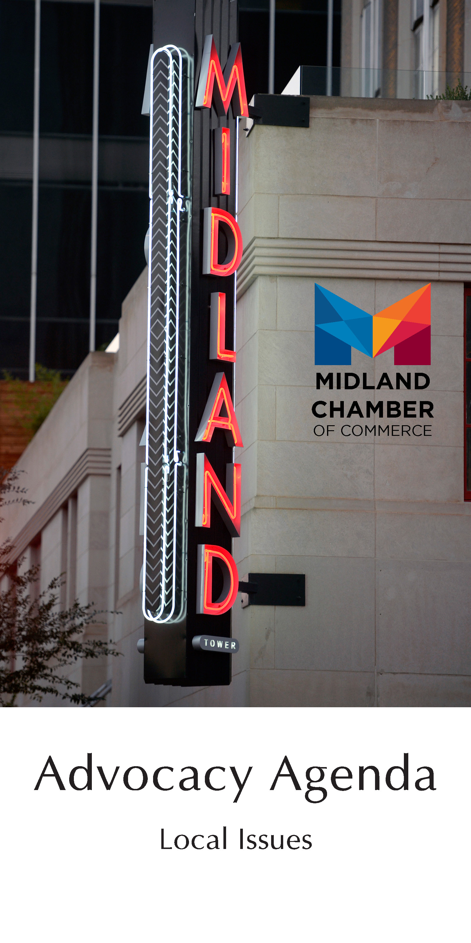 2020-2021 Midland Chamber of Commerce's Local Advocacy Agenda