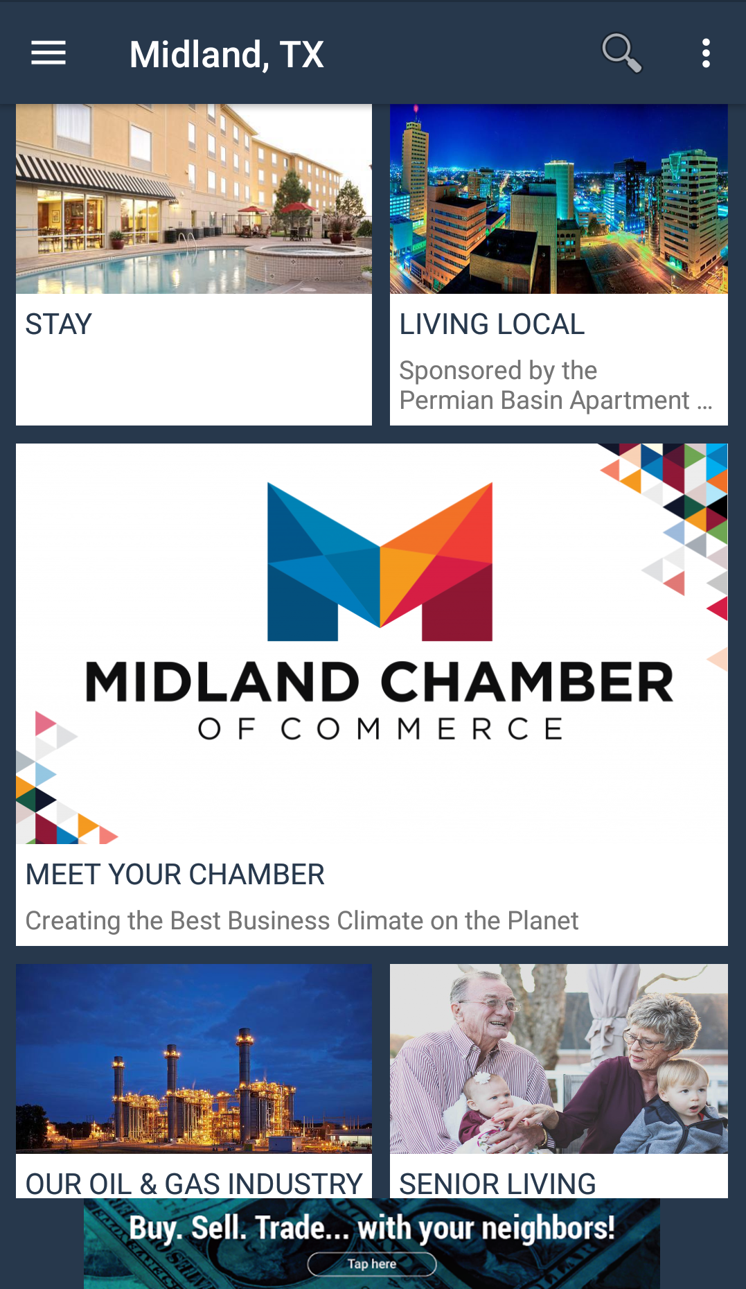 Passport 2 Midland app