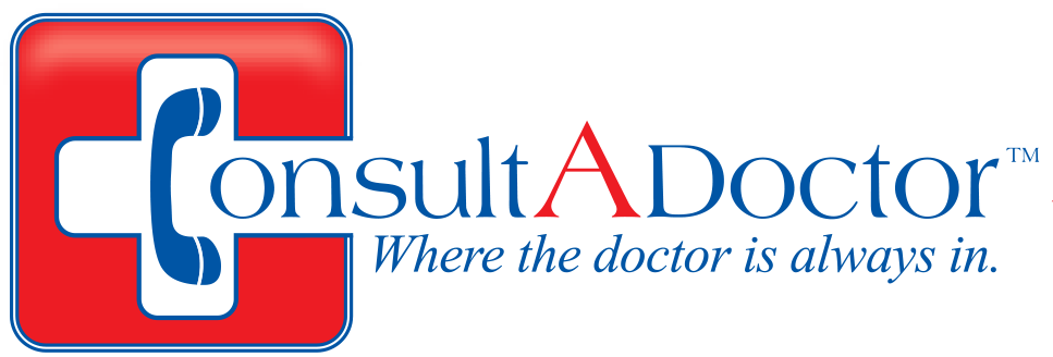 Consult-a-Doctor by Teledoc Logo