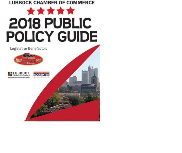 View the Chamber's 2018 Public Policy Guide