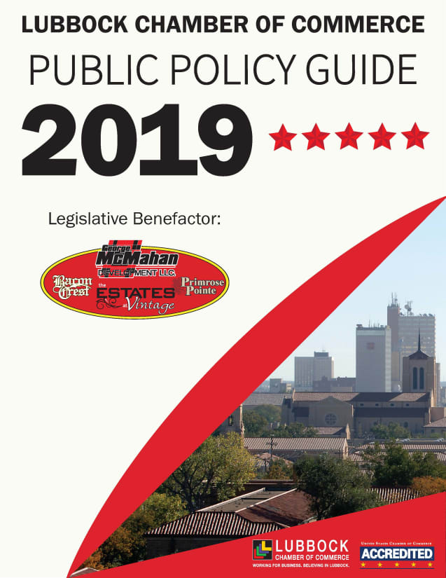 View the Chamber's 2019 Public Policy Guide