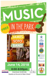 Music in the Park 5/24/18, 6pm