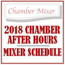 2018 Mixer Schedule