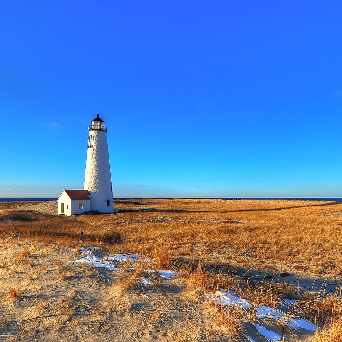 Great Point in the Winter Nantucket