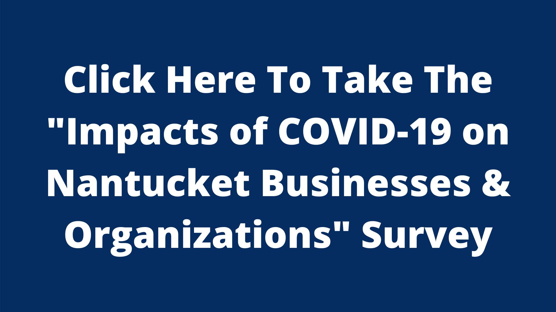 Nantucket COVID-19 Business & Organizations Survey