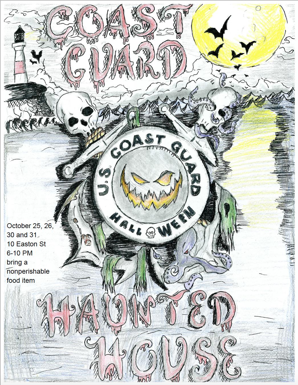 Coast Guard Haunted House