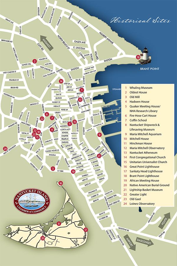 Map Of Nantucket Nantucket Island Map   Nantucket Island Chamber of Commerce, MA Map Of Nantucket