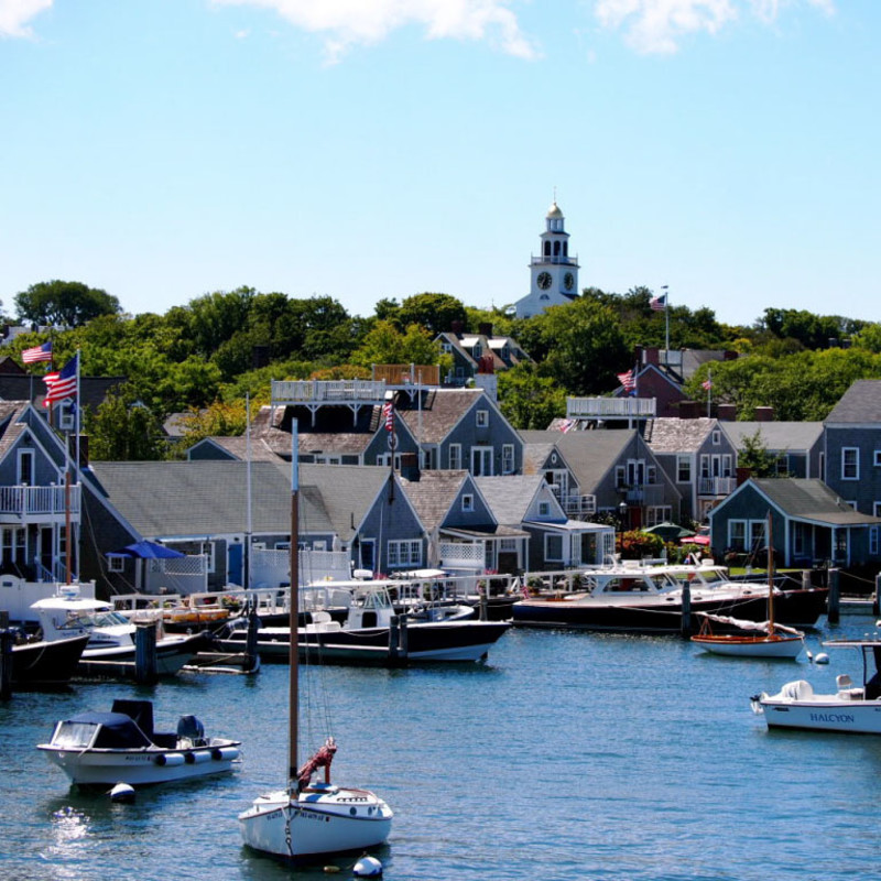 Nantucket Harbor Summer - Weather
